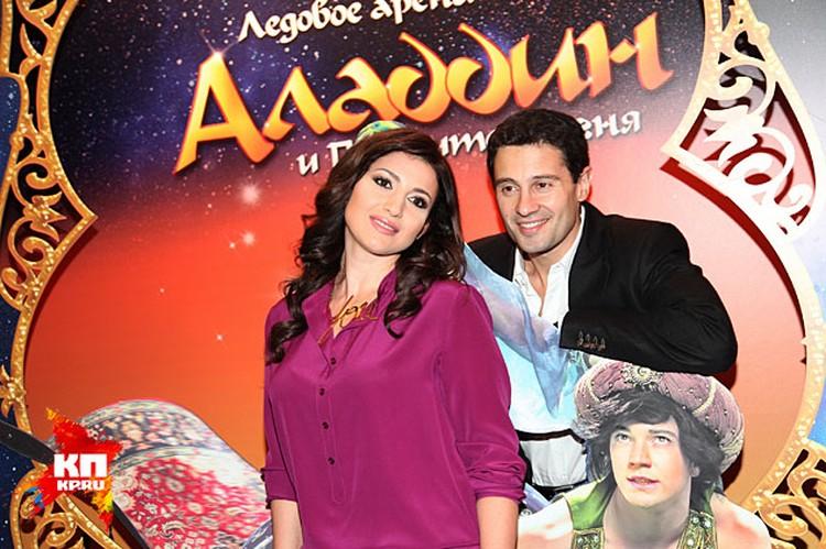 Антон Макарский и Жасмин, подарившие свои голоса главным героям
