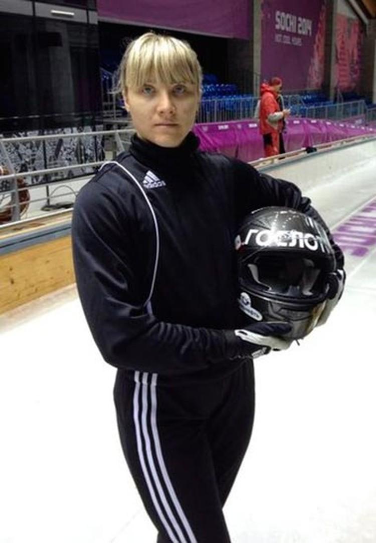 Буквально за год до стартов в Сочи наша землячка Надежда Палеева поменяла легкую атлетику на бобслей.         Фото: соцсети