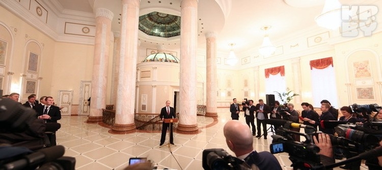 Путин сделал заявление за 5 минут.