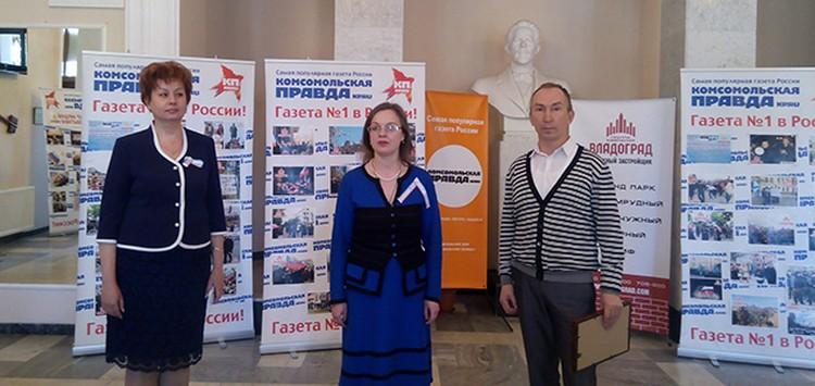 """Все участники выставки были награждены дипломами """"Комсомолки"""". Фото: Ксения Курзенкова"""