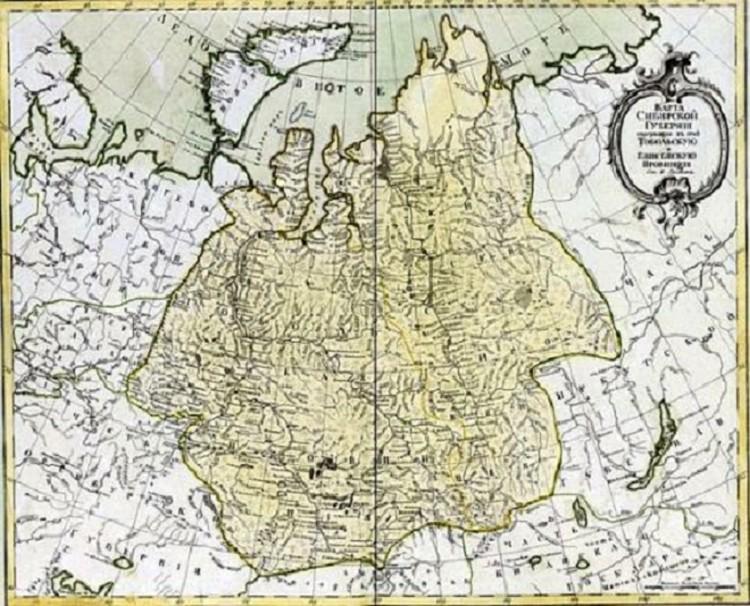 Карта уральского Вестероса