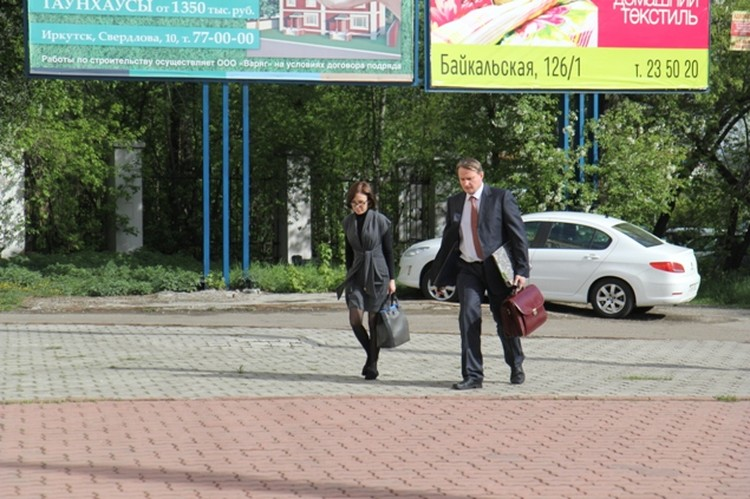Екатерина Коверзнева во время судебных заседаний скрывалась от прицела телекамер