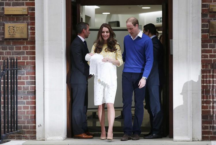 Кэтрин вышла из большицы всего через десять часов после родов.
