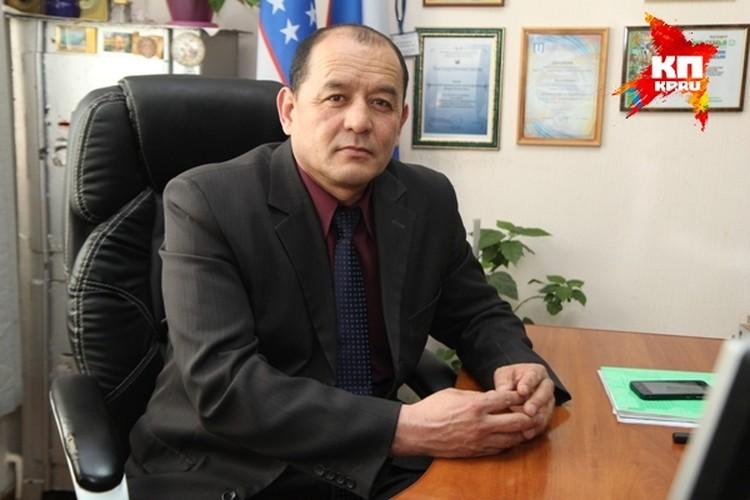 Председатель Узбекского национально-культурного центра «Наше Отечество» Юсуп Кулматов.