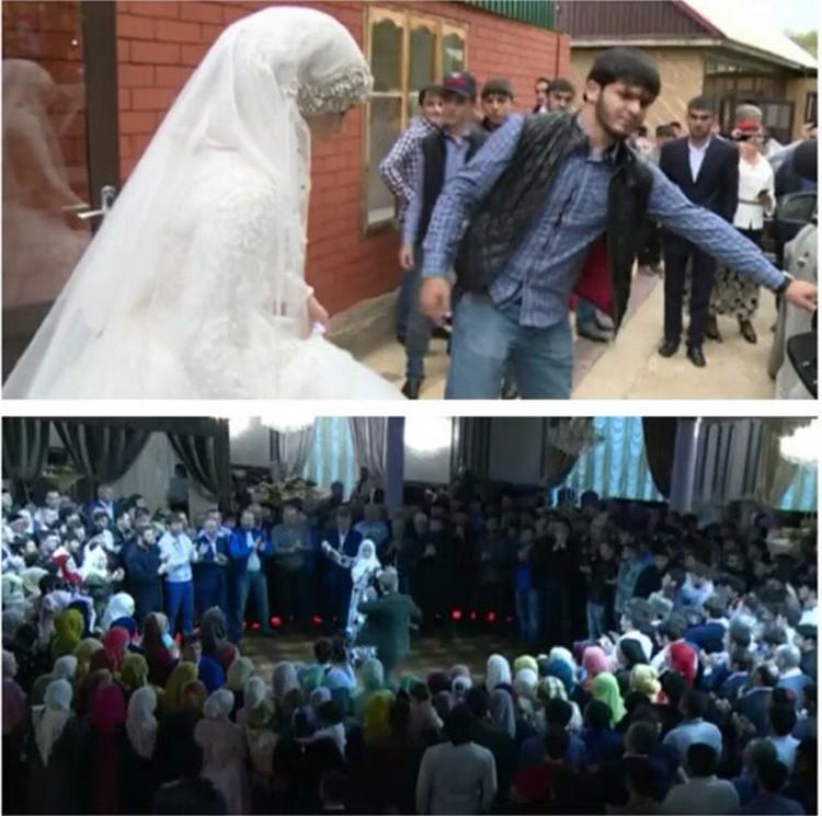 Свадьба в Чечне, которая взбудоражила всю Чечню. Фото: Instagram