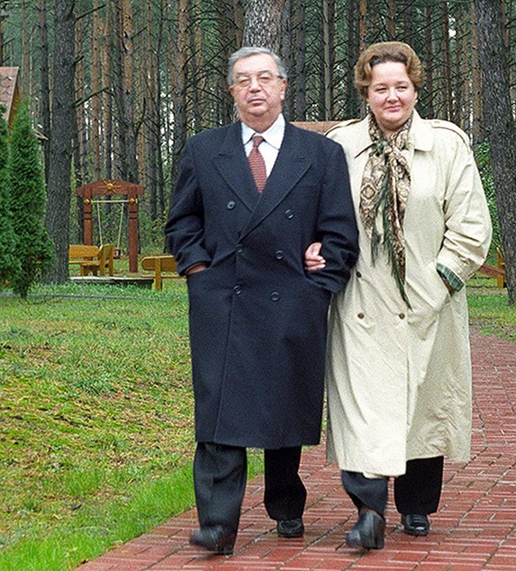 1998 год. Со второй женой Ириной. Они познакомились, когда Евгений Максимович отдыхал в Барвихе.