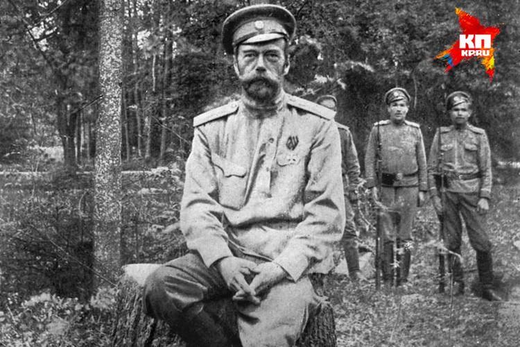 В марте 1917 года Николай II Романов отрекся от престола. Снимок был сделан вскоре после этого. Фото: госархив