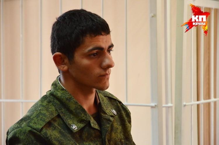 Главный вещдок против срочника из Ингушетии - его же запись в соцсетях, в которой он хвастался скандальным фото.