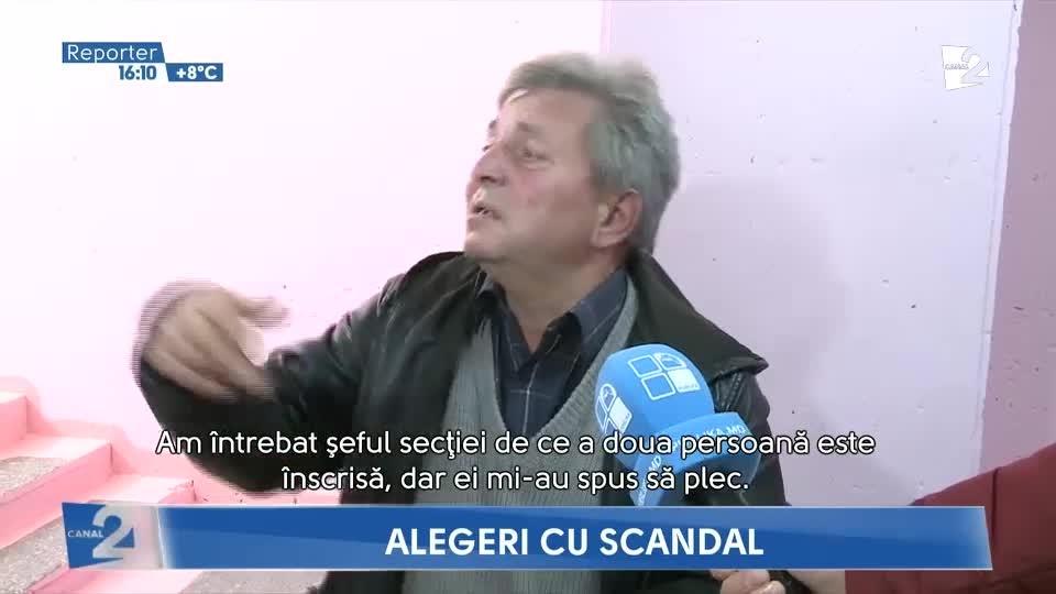 Скандал с пенсионеркой на участке в Кишиневе
