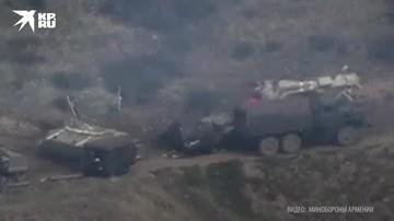 Военные Армении публикуют кадры обороны Нагорного Карабаха