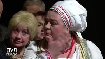 Актриса Ольга Нефедова пустила слезу на встрече с Лукашенко