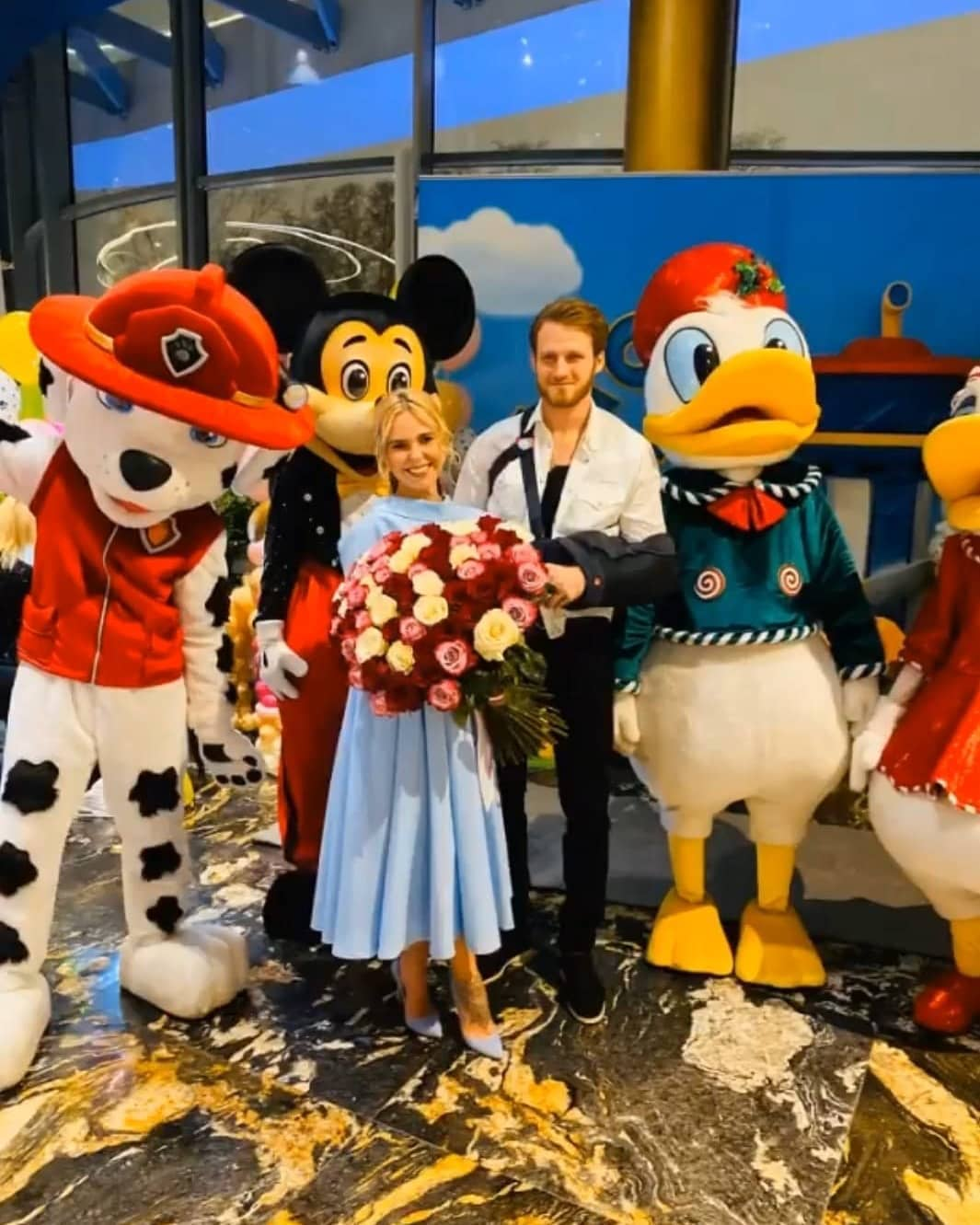 Пелагея вместе с мужем отпраздновала День рождения дочки