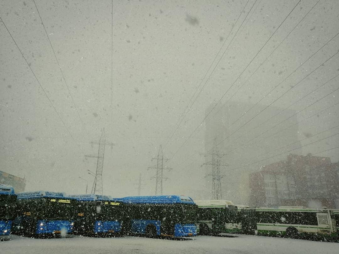 Москвичи рады приходу настоящей зимы