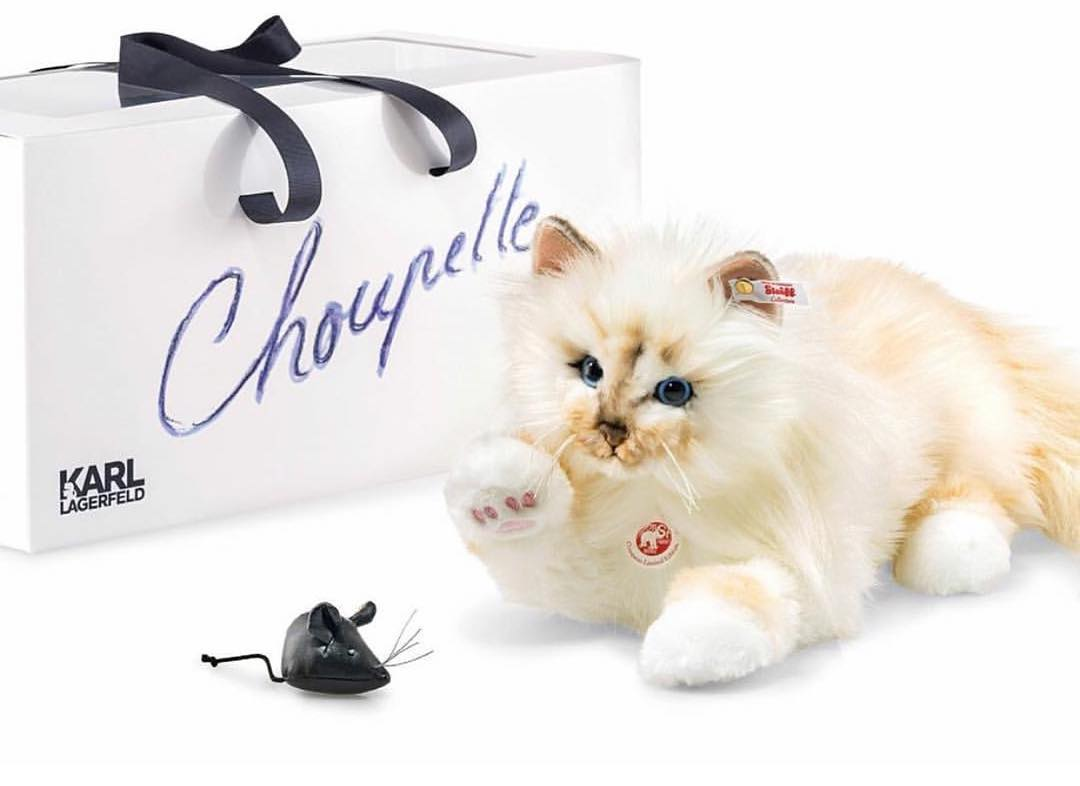 В честь Шупетт была изготовлена плюшевая игрушка, которая полюбилась фанатам Лагерфельда