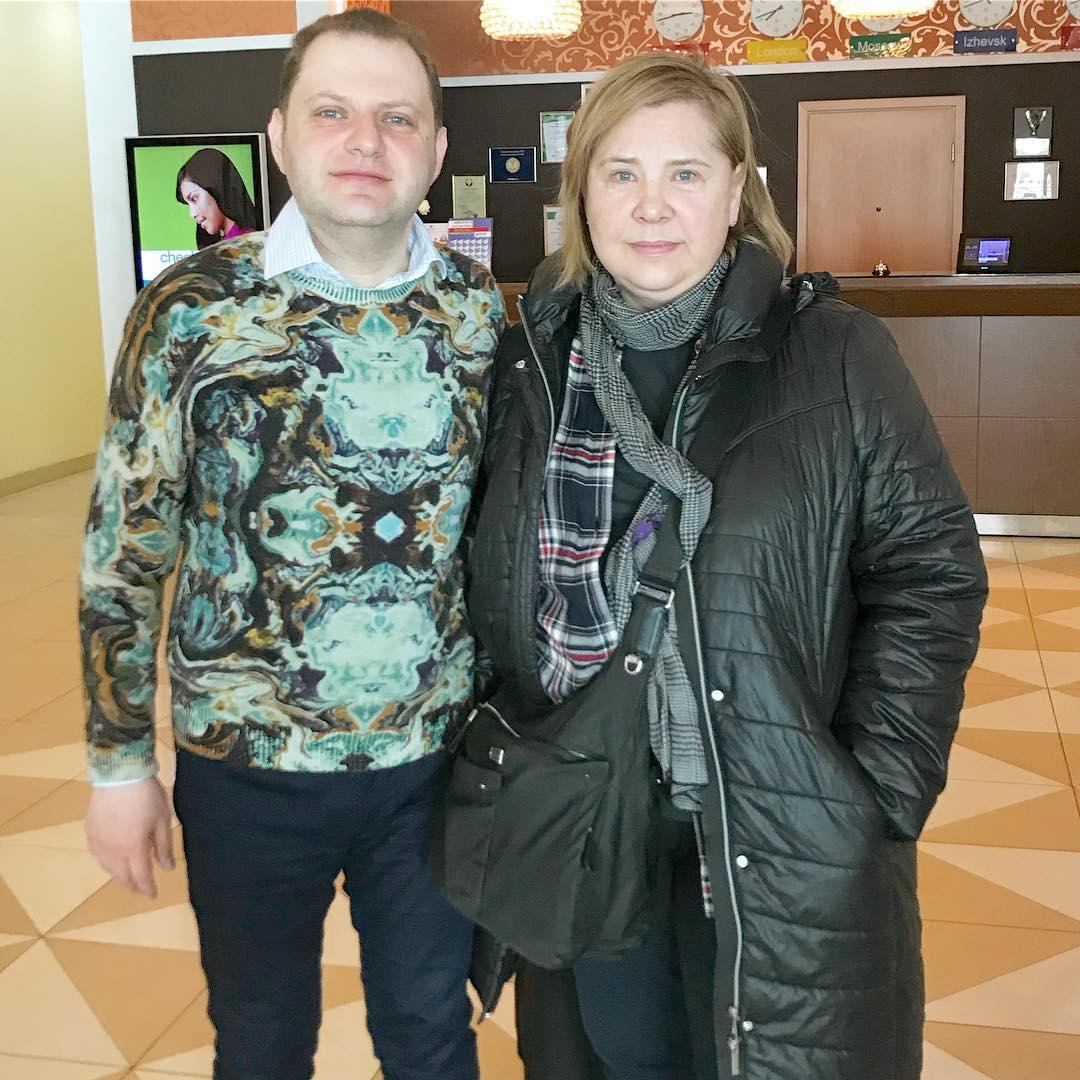 С Татьяной Догилевой