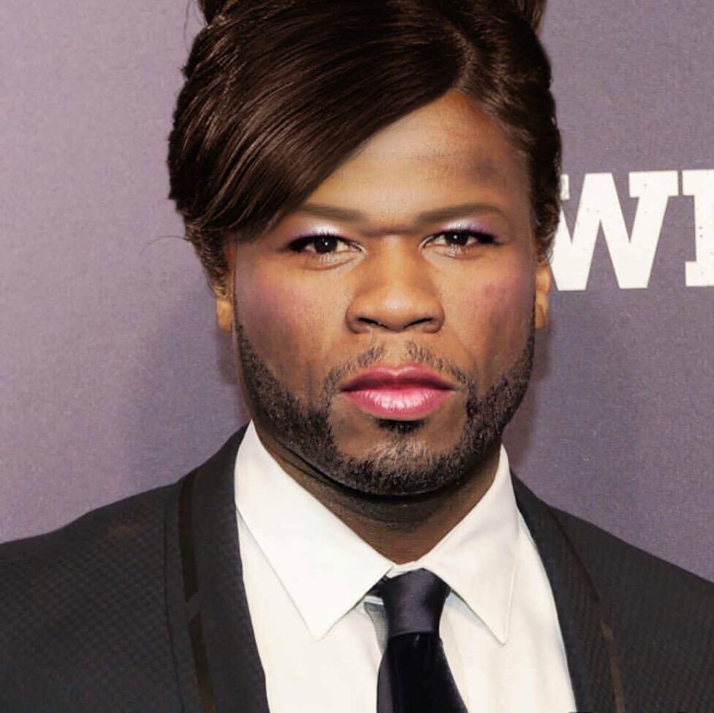 Чтобы отомстить, Ja Rule опубликовал фото 50 Cent в образе женщины