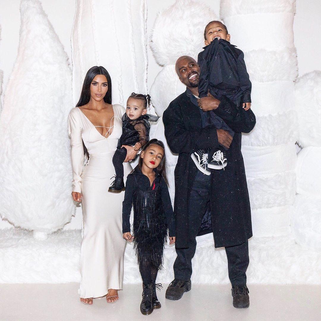 Ким и Канье поженились в мае 2014 года, у пары родилось четверо детей