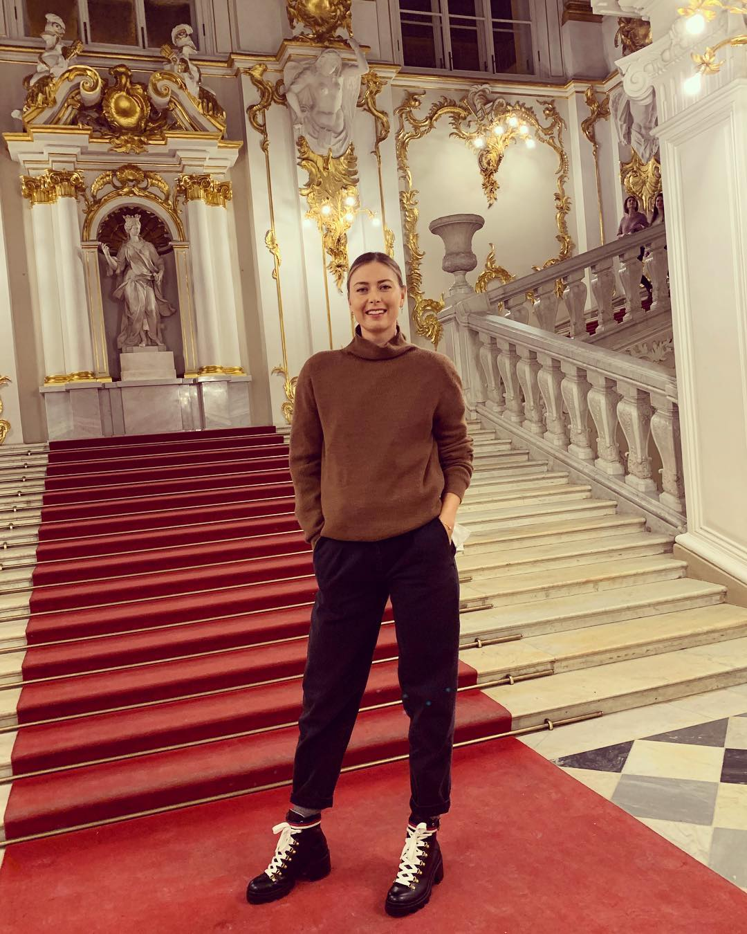 From someone that prefers a minimalist aesthetic ( ok, besides the boots ) I have to say the Hermitage Museum was exceptional. The elaborate golden light fixtures, statues carved out of one piece of marble, the sarcastic Dutch works...I need a second visit, jet lag free!