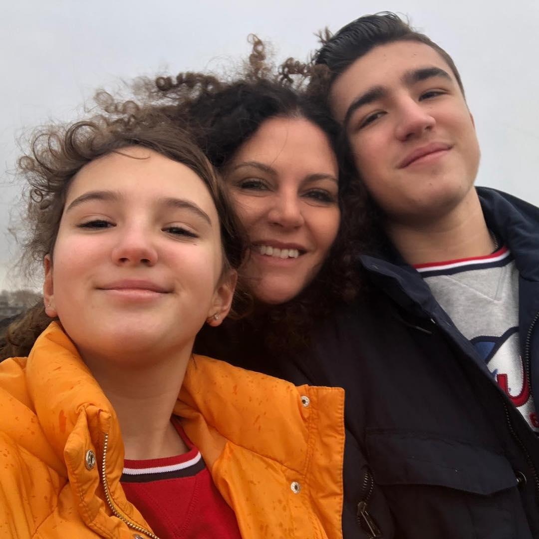 Дочь Дмитрия Хворостовского Нина, вдова и сын Максим