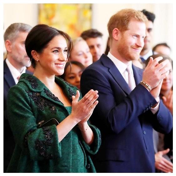 Меган Маркл рожала вместе с мужем - принцем Гарри
