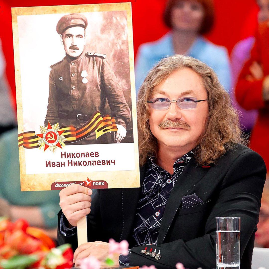 МОЙ БЕССМЕРТНЫЙ ПОЛК - мой дед, Иван Николаевич Николаев, прошедший всю войну и дошедший до Берлина.