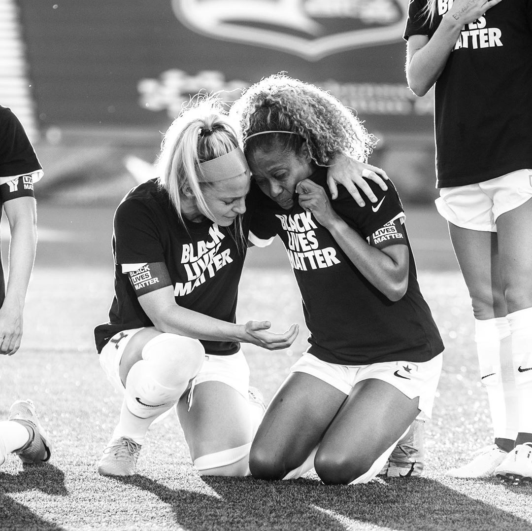 This moment and this movement means everything to our players. // #BlackLivesMatter