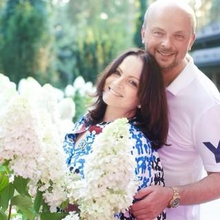 София Ротару с сыном Русланом