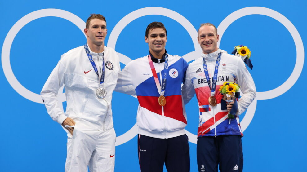 Евгений Рылов - Олимпиада - плавание
