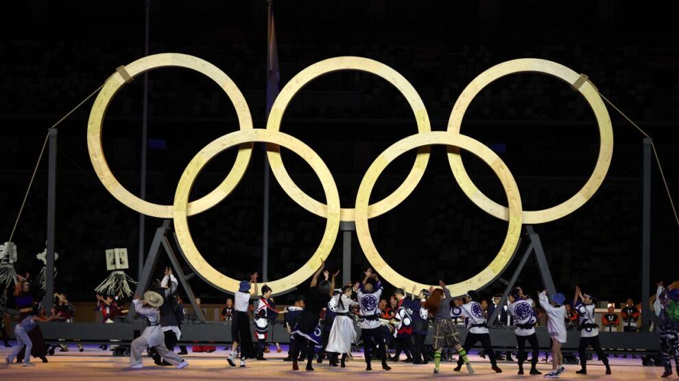 Олимпиада - Токио - открытие