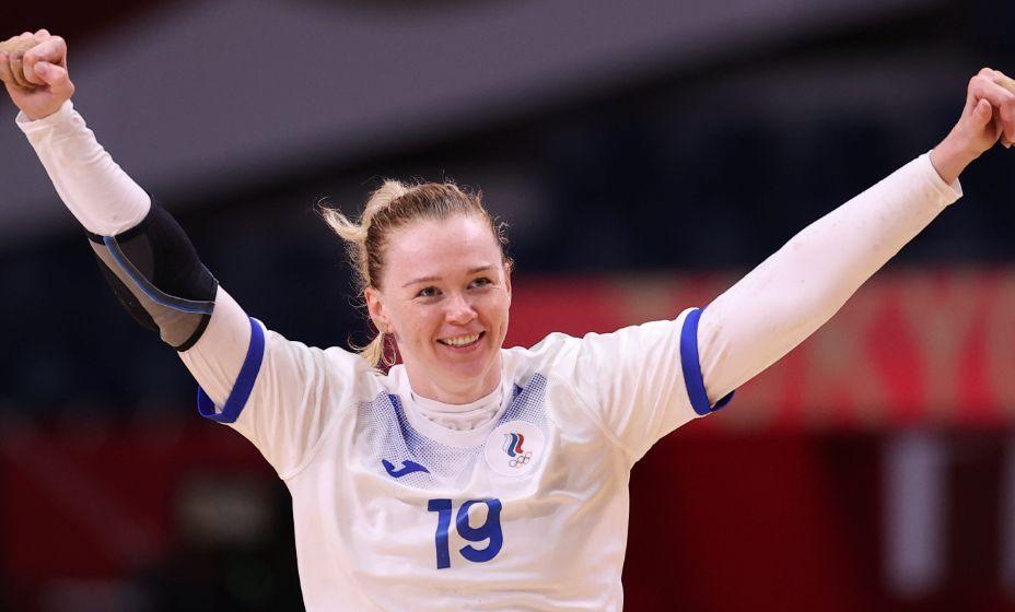 Ксения Макеева рада победе над Францией. Фото: Reuters