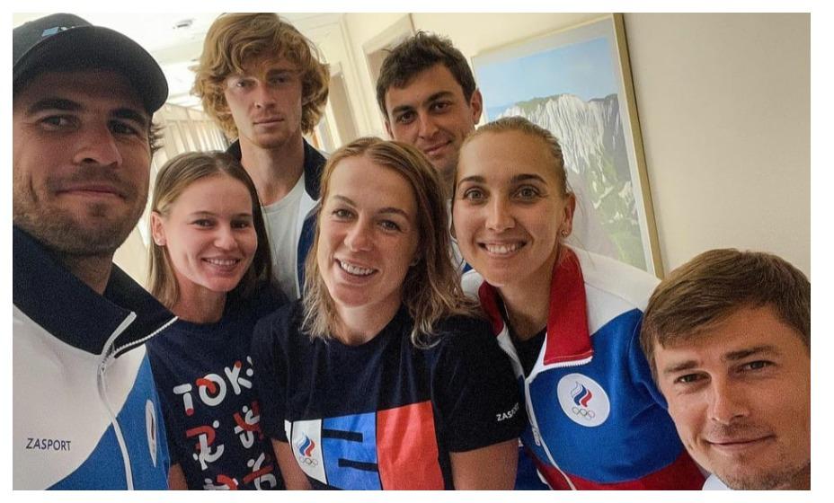 Российские теннисисты узнали соперников первого круга на Играх-2020. Фото: Инстаграм Елены Весниной