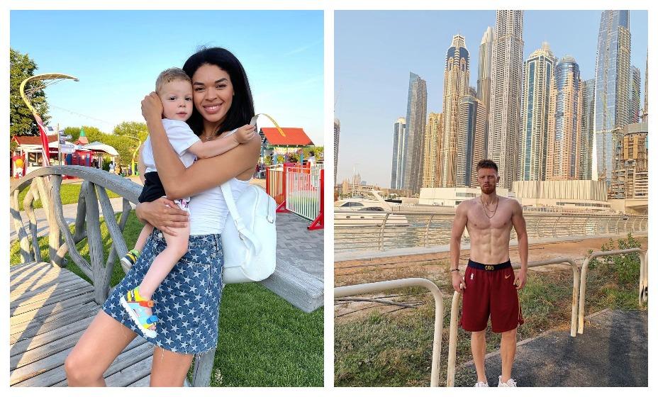 Катерина Кейру с сыном Теодором обрушилась с критикой на бывшего мужа Ивана Новосельцева. Фото: Instagram