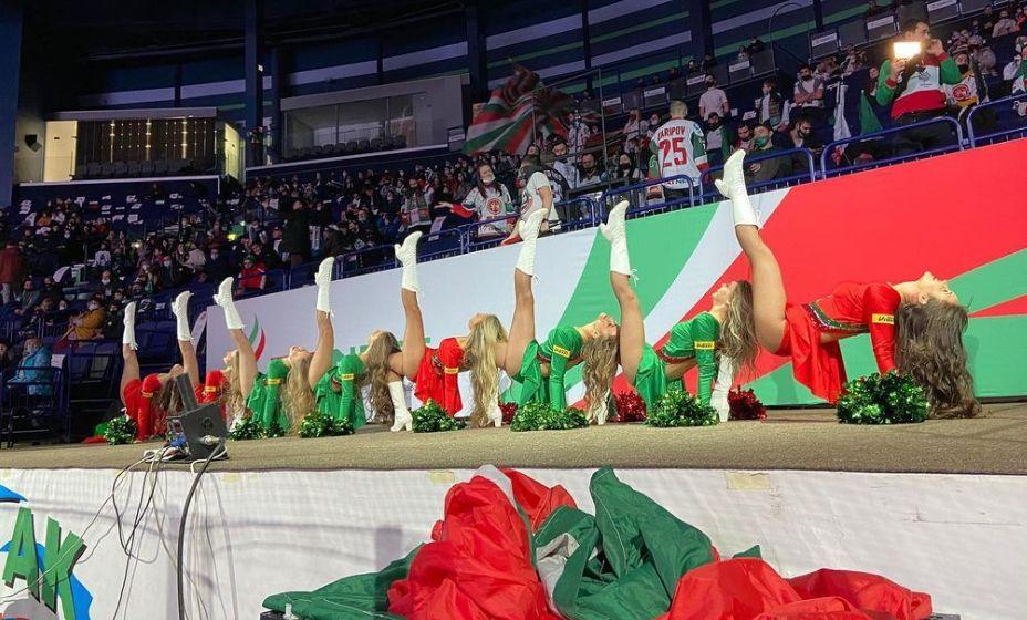 «Ак Барс» решил отказаться от группы поддержки. Фото: Инстаграм Регины Бариевой