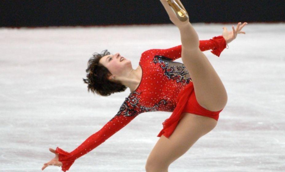 На Олимпиаде-2006 в Турине Ирина Слуцкая выиграла бронзу. Фото: ТАСС