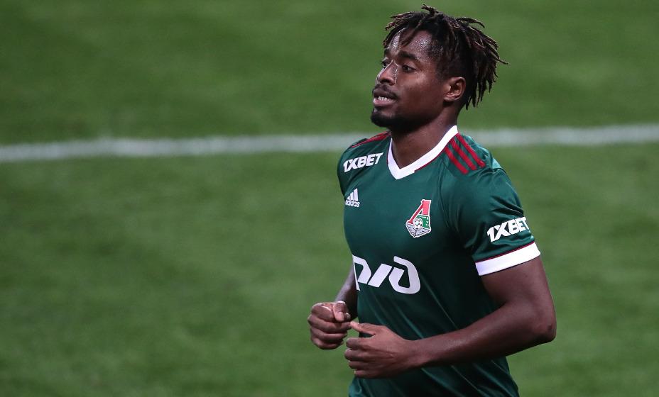 Форвард красно-зеленых Франсуа Камано сделал дубль в матче чемпионата накануне игры Лиги Европы. Фото: Global Look Press