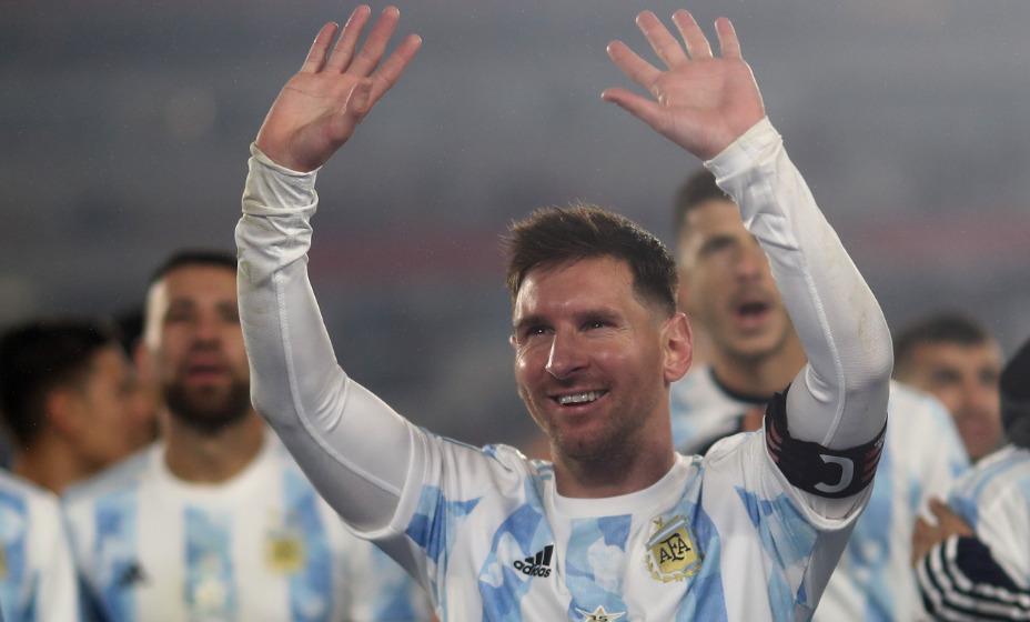 Лионель Месси побил рекорд по количеству голов за национальную команду Аргентины. Фото: Reuters