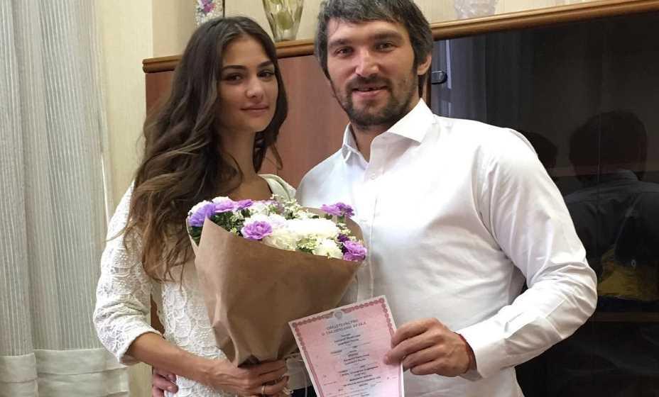 Александр и Анастасия заключили брак 8 июля 2017 года в День любви, семьи и верности. Фото: Инстаграм Анастасии Шубской